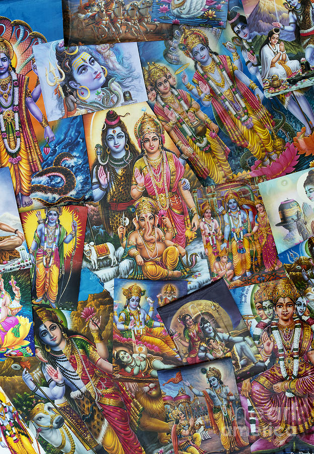 Hindu Deity Posters Photograph
