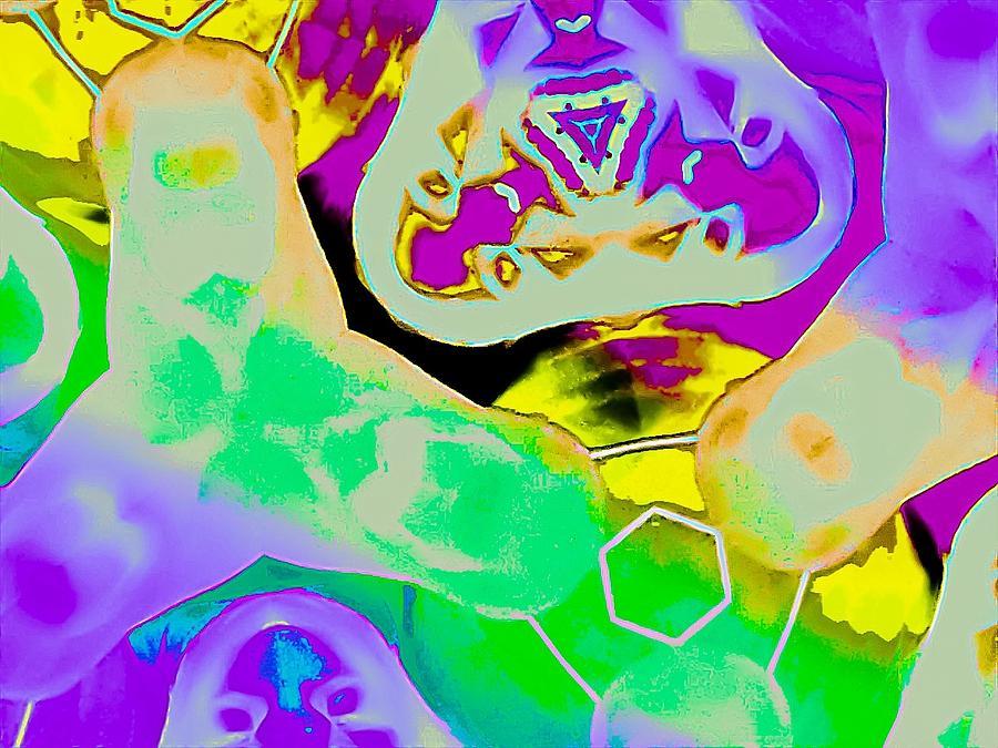 Hippie Life Digital Art