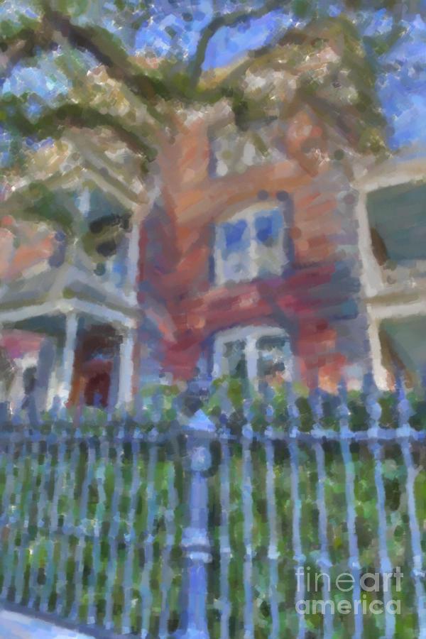 Historic Charleston Grand Home Photograph