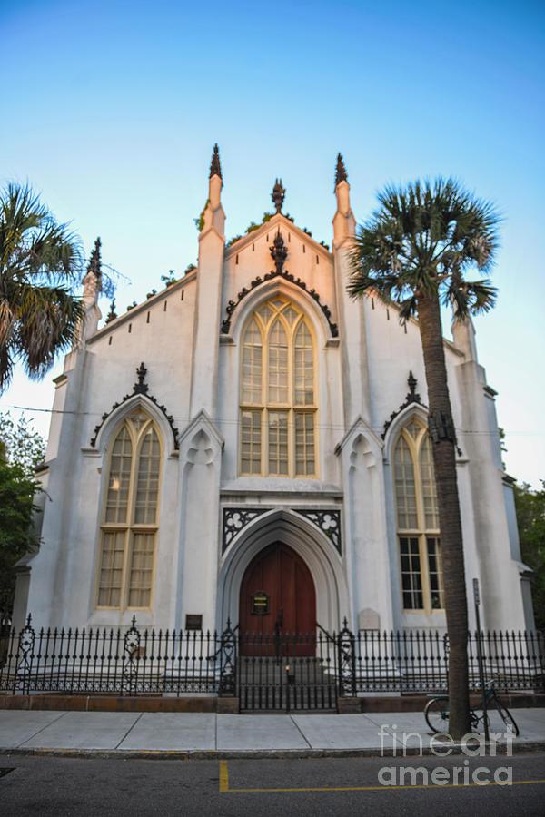 Historic Downtown Church Photograph