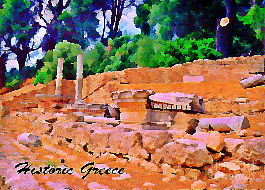 Historic Greece Digital Art