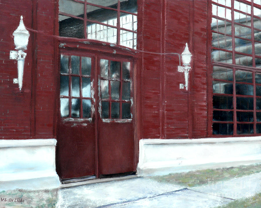 Historic Mcneill Street Pumping Station Shreveport Louisiana Painting