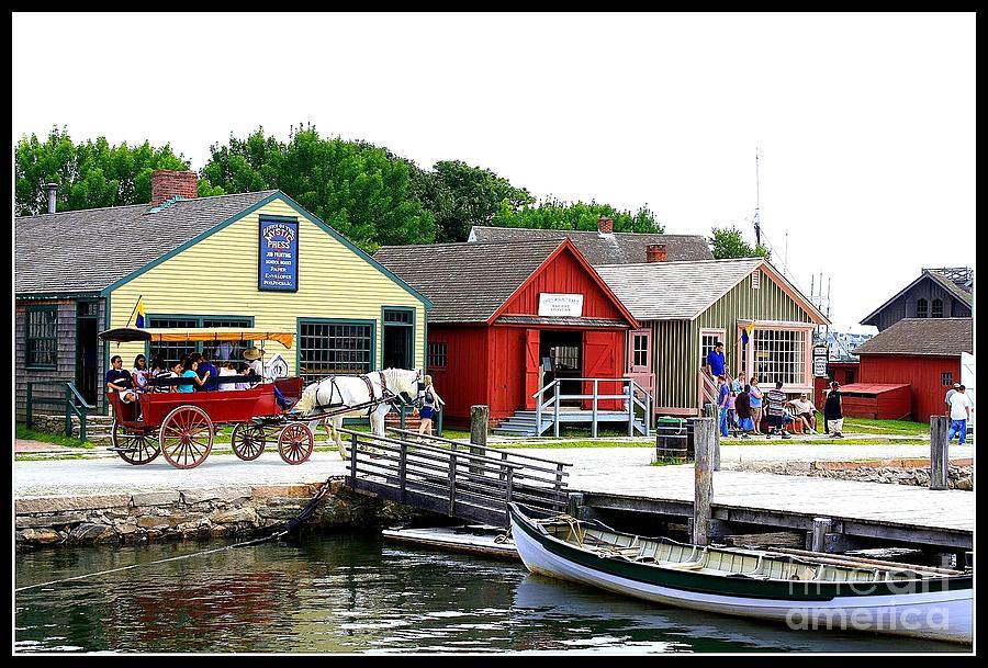 Historic Mystic Seaport Photograph