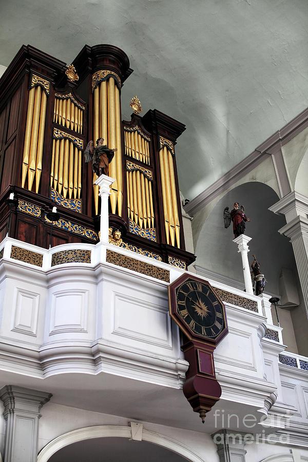Historic Organ Photograph