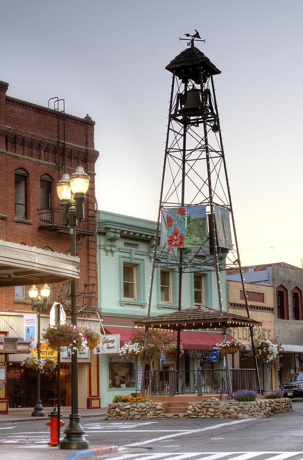 Historic Placerville Bell Tower Photograph  - Historic Placerville Bell Tower Fine Art Print