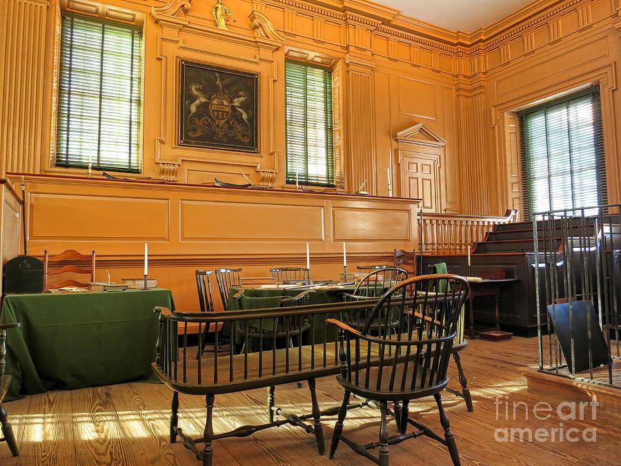Historic Supreme Court Photograph