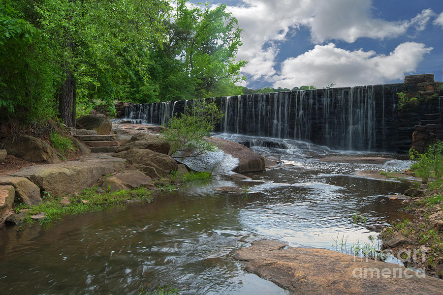 Historic Yates Mill Dam - Raleigh-nc Photograph  - Historic Yates Mill Dam - Raleigh-nc Fine Art Print