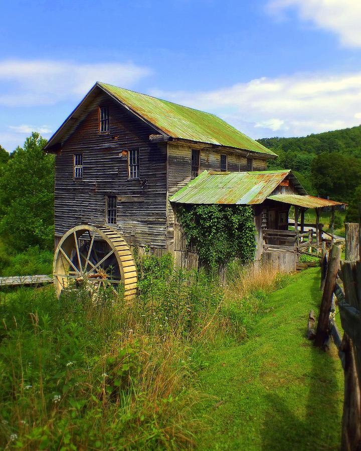 Whites Mill Photograph - Historical Whites Mill by Karen Wiles