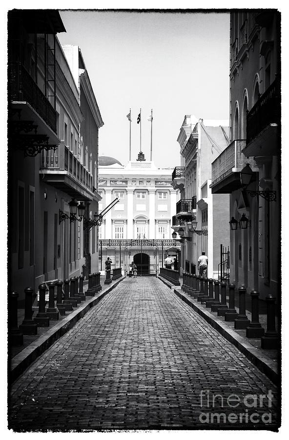 History In San Juan Photograph - History In San Juan by John Rizzuto