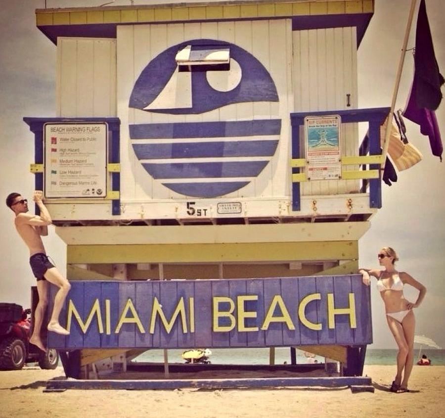 History South Beach Miami Fl Photograph