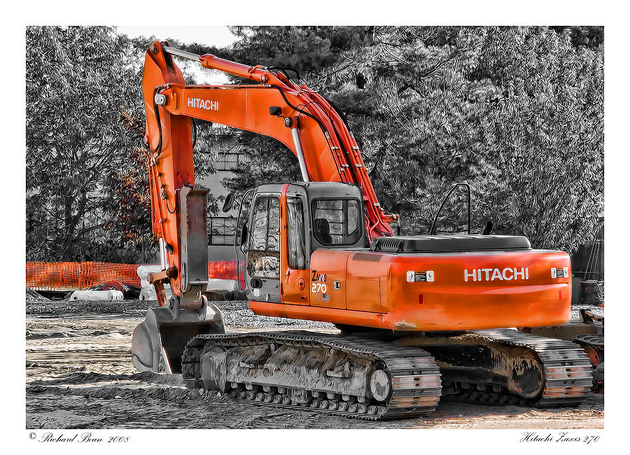 Hitachi Zaxis 270 Photograph