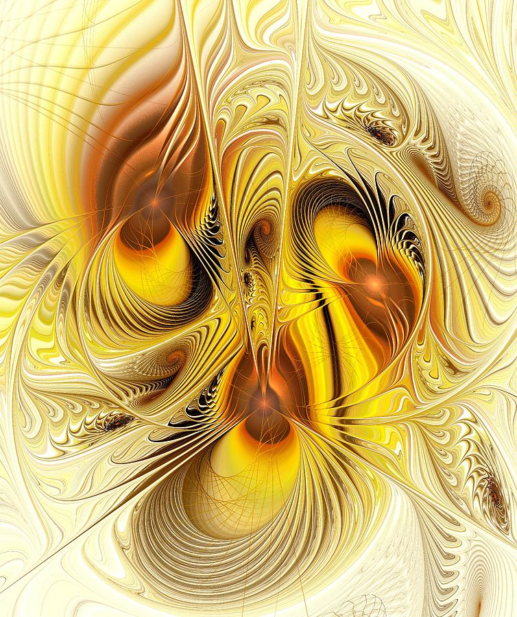 Hive Mind Digital Art  - Hive Mind Fine Art Print