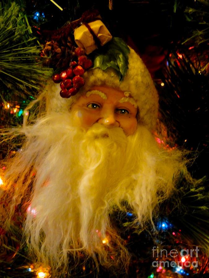 Santa Photograph - Ho Ho Ho Merry Christmas by Al Bourassa
