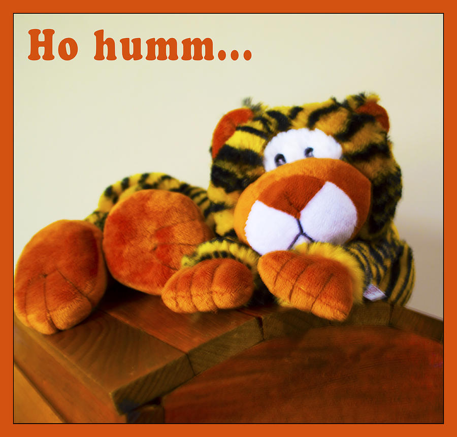 Ho Hummm Tiger Digital Art  - Ho Hummm Tiger Fine Art Print