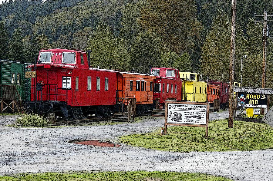 Hobo Train Hotel Photograph by Harold Greer