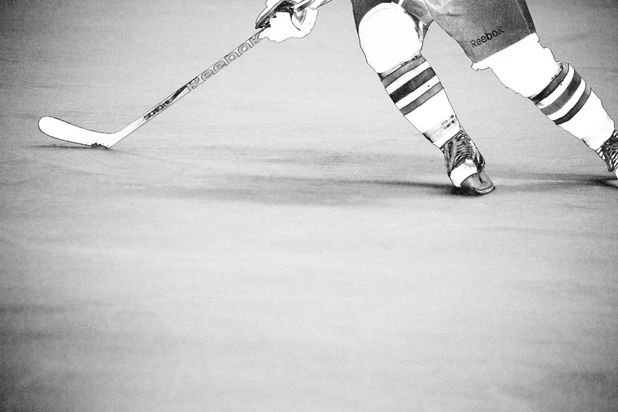 Hockey Stride 2 Photograph  - Hockey Stride 2 Fine Art Print