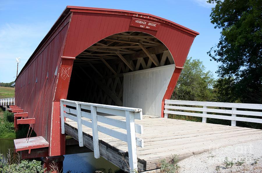 Madison County Photograph - Hogback Bridge by David Bearden