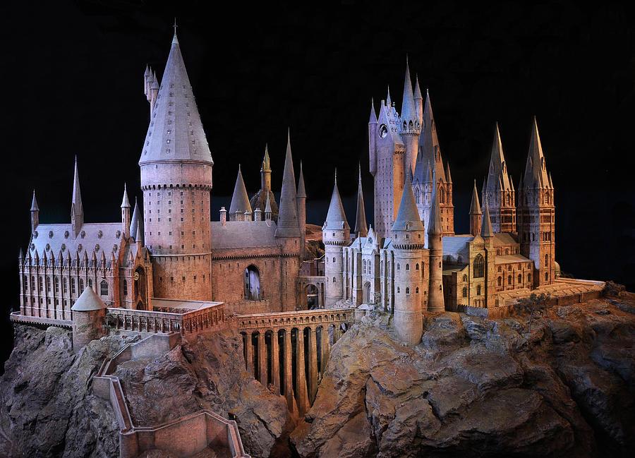 Hogwarts Photograph - Hogwarts Castle by Tanis Crooks