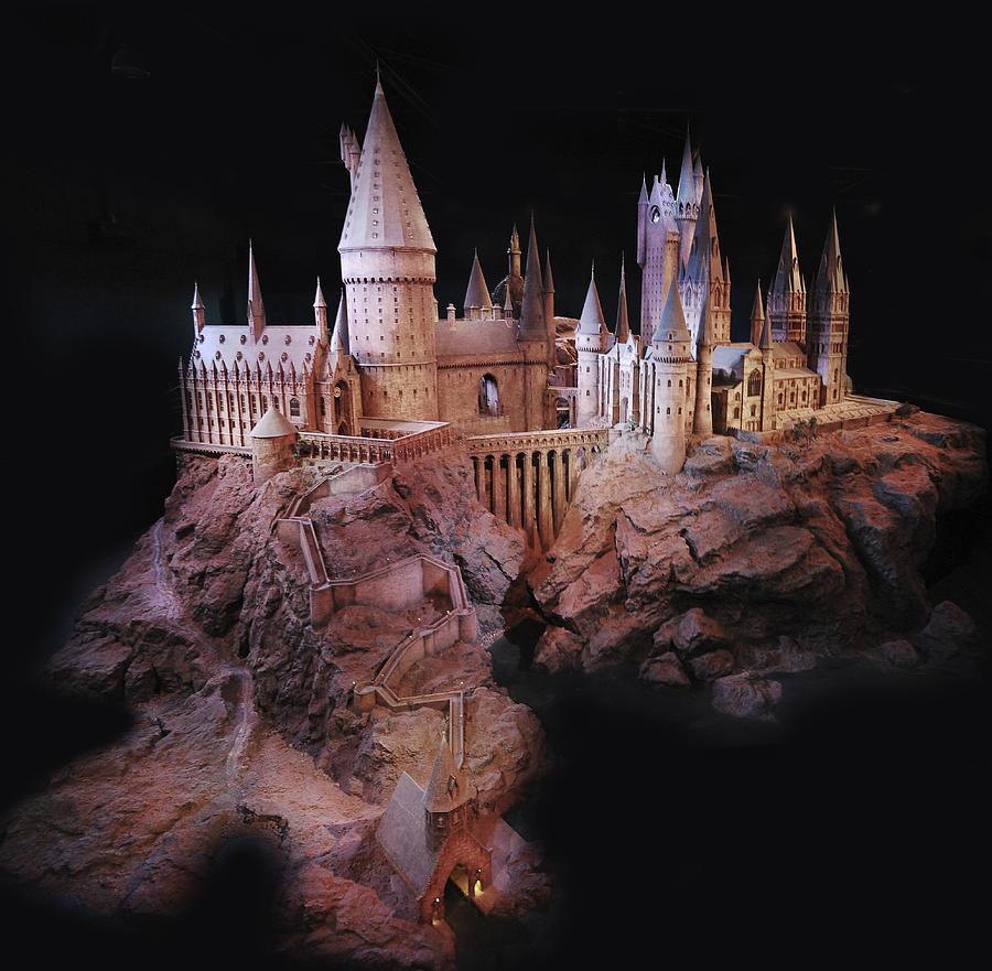 Hogwarts Digital Art By Gina Dsgn