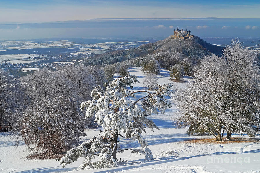 Hohenzollern Castle 2 Photograph