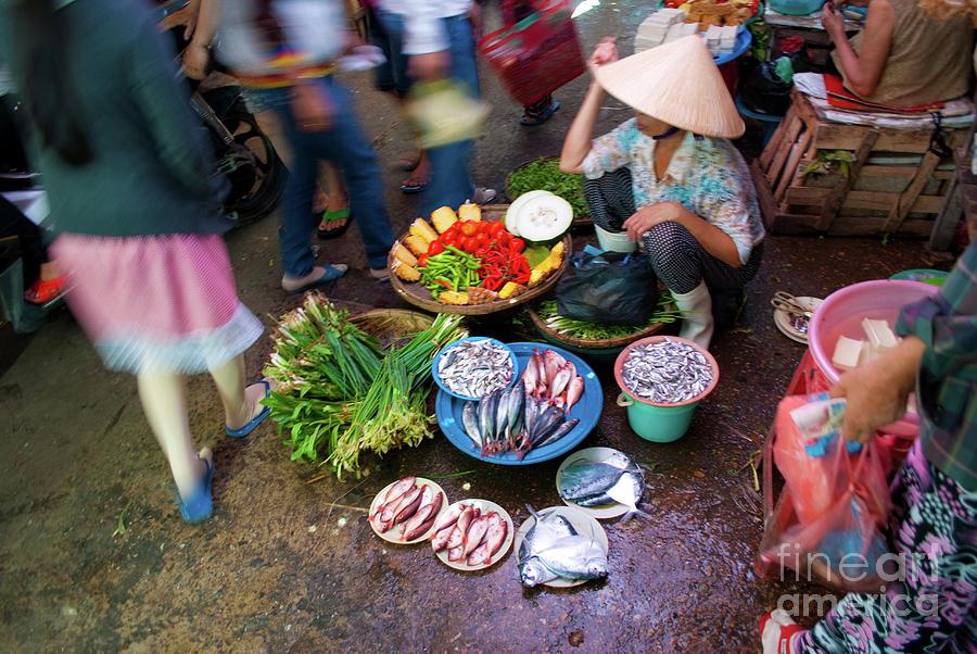Hoi An Market Photograph
