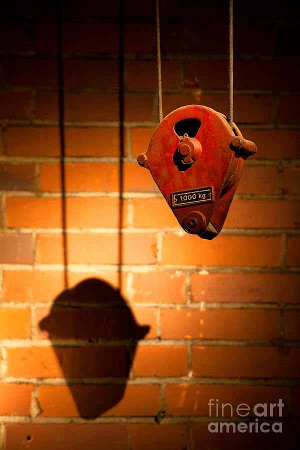 Hoist For Lifting Heavy Weight Photograph