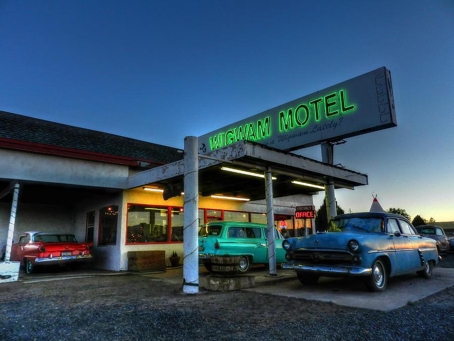 Holbrook Az - Wigwam Motel 010 Photograph