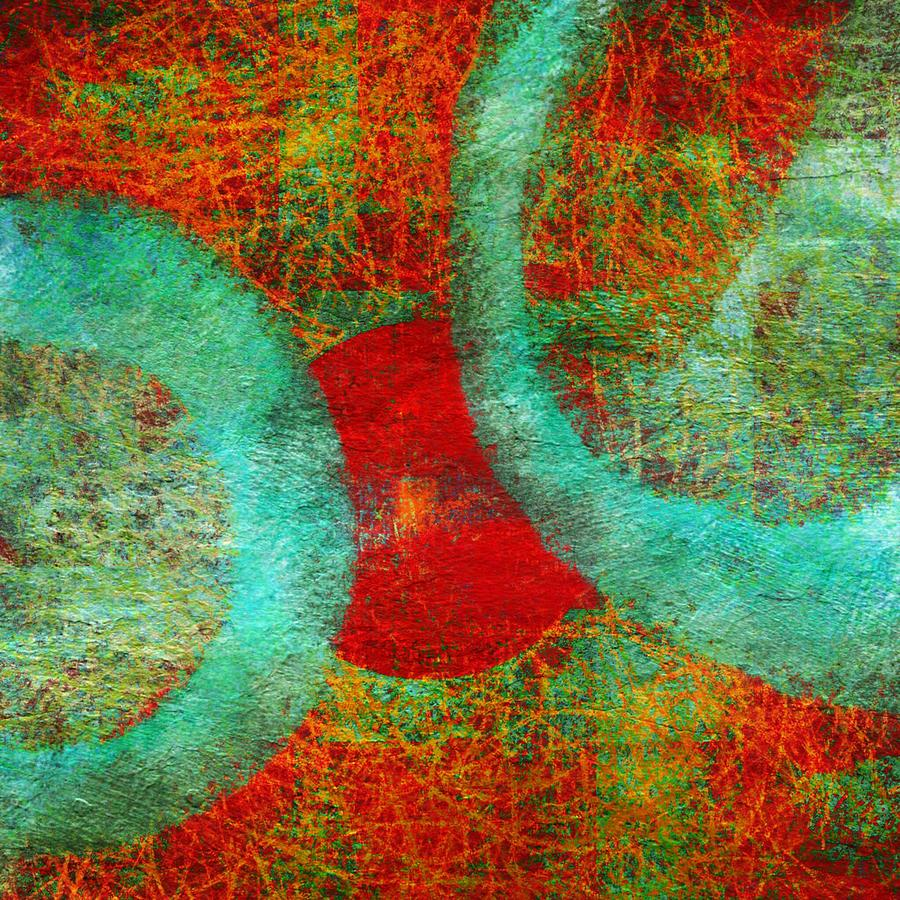 Holes in the fabric of reality digital art by michele brown for The fabric of reality