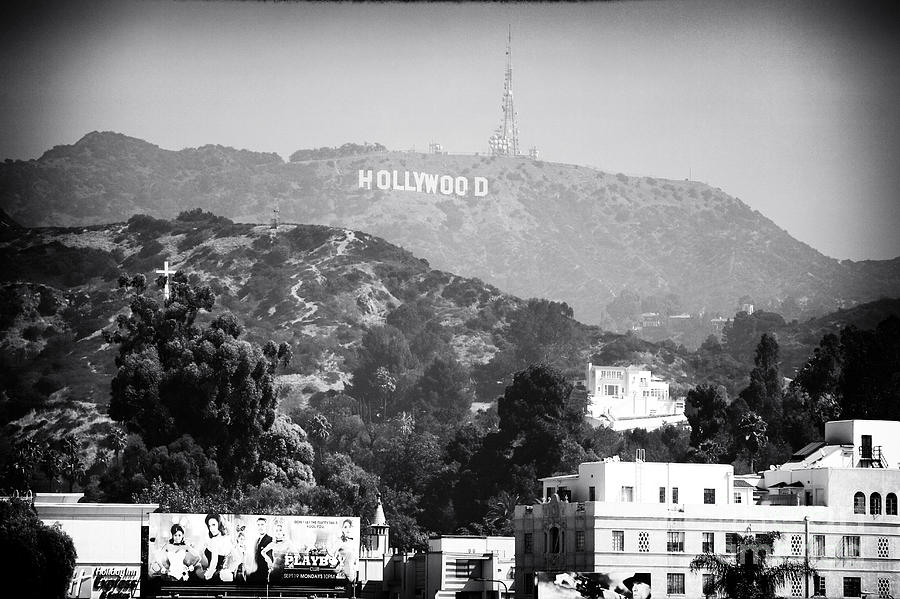 Hollywood Sign Photograph - Hollywood Sign by John Rizzuto