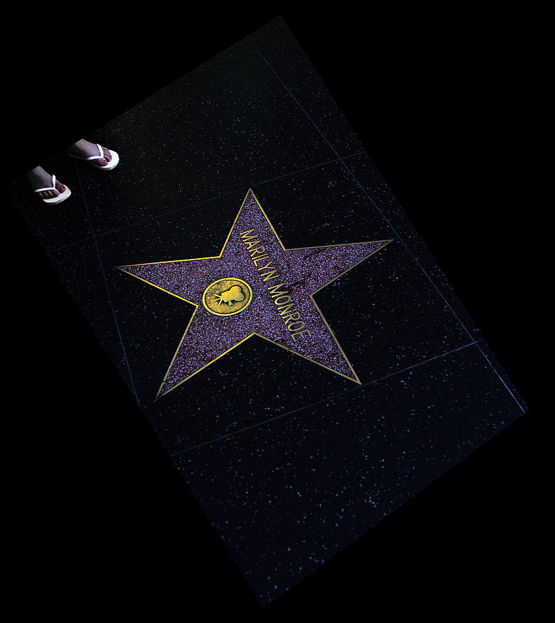 Hollywood Star Photograph