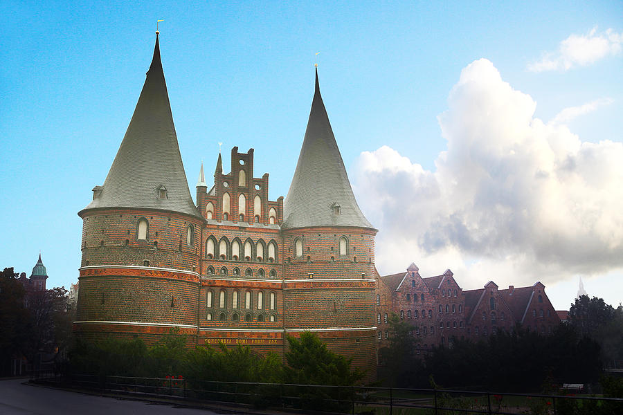 Holstentor Photograph  - Holstentor Fine Art Print