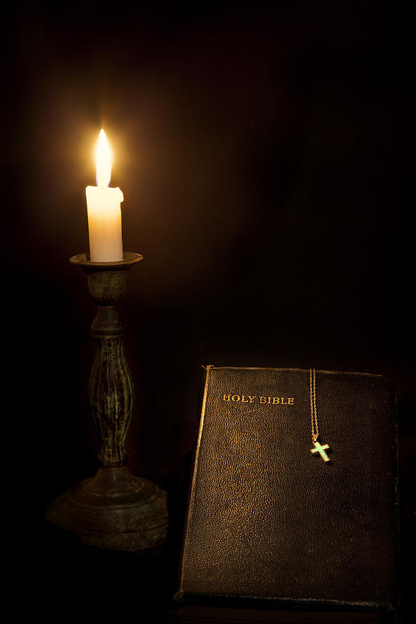 Holy Bible Photograph  - Holy Bible Fine Art Print