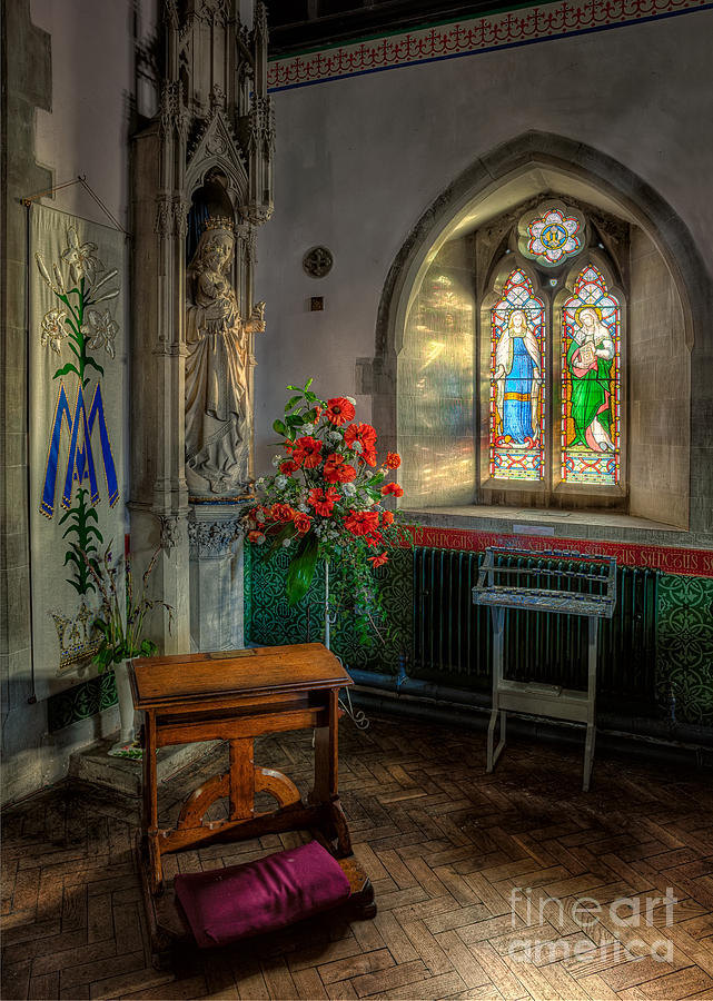 Aisle Photograph - Holy Ground by Adrian Evans