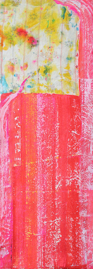 Abstract Painting Painting - Homage To Old Paint Rags by Asha Carolyn Young