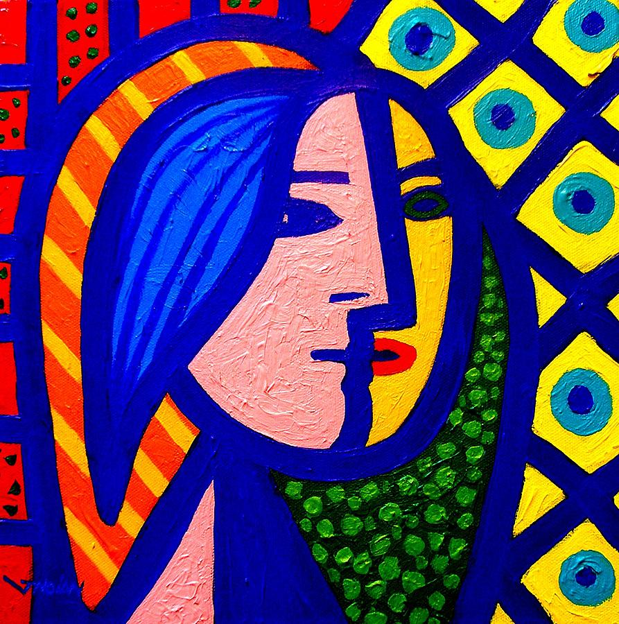 Homage To Pablo Picasso Painting  - Homage To Pablo Picasso Fine Art Print