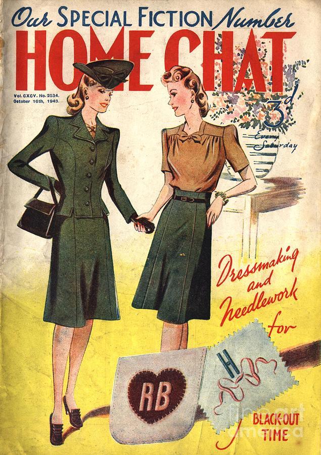 Home Chat 1940s Uk Women At War Make Drawing
