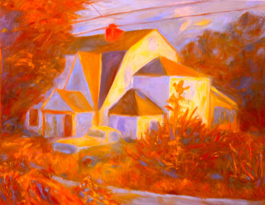 Home In Christiansburg Sketch Painting