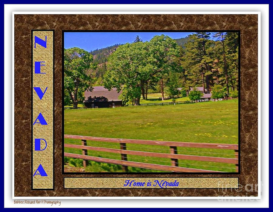 Home Is Nevada Photograph