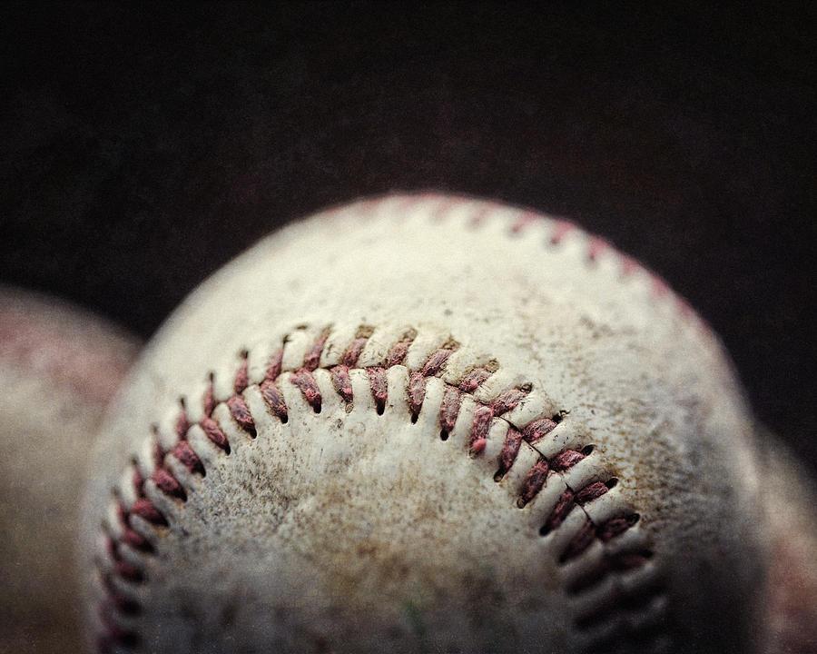 Home Run Ball Photograph