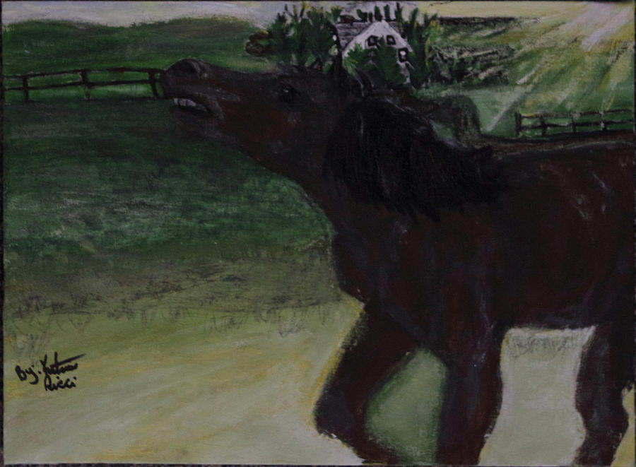 Home Sweet Horse Painting