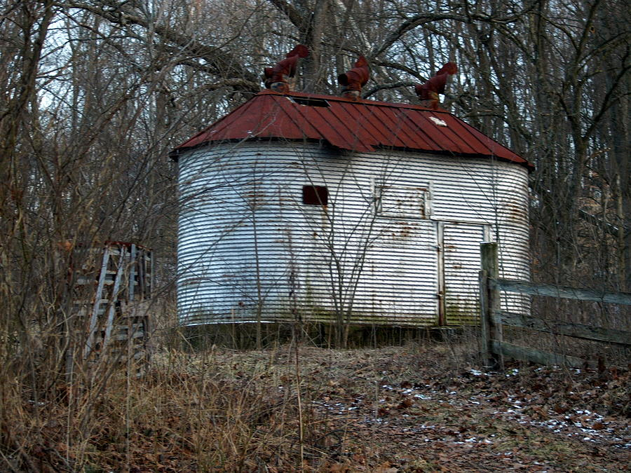 Homemade Corn Crib Photograph by Mike Stanfield