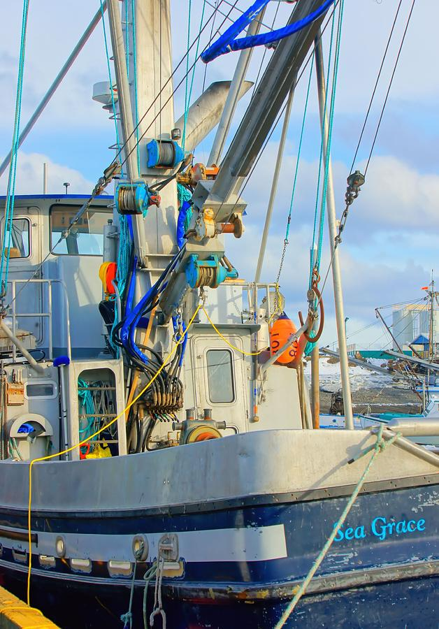 Homer Fishing Boat Photograph  - Homer Fishing Boat Fine Art Print