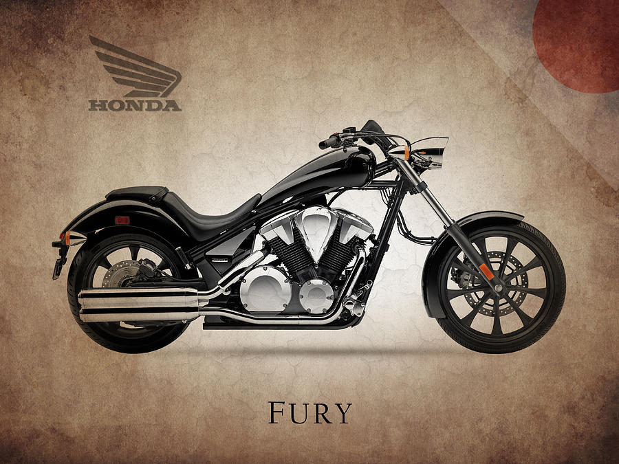 Honda Fury Photograph