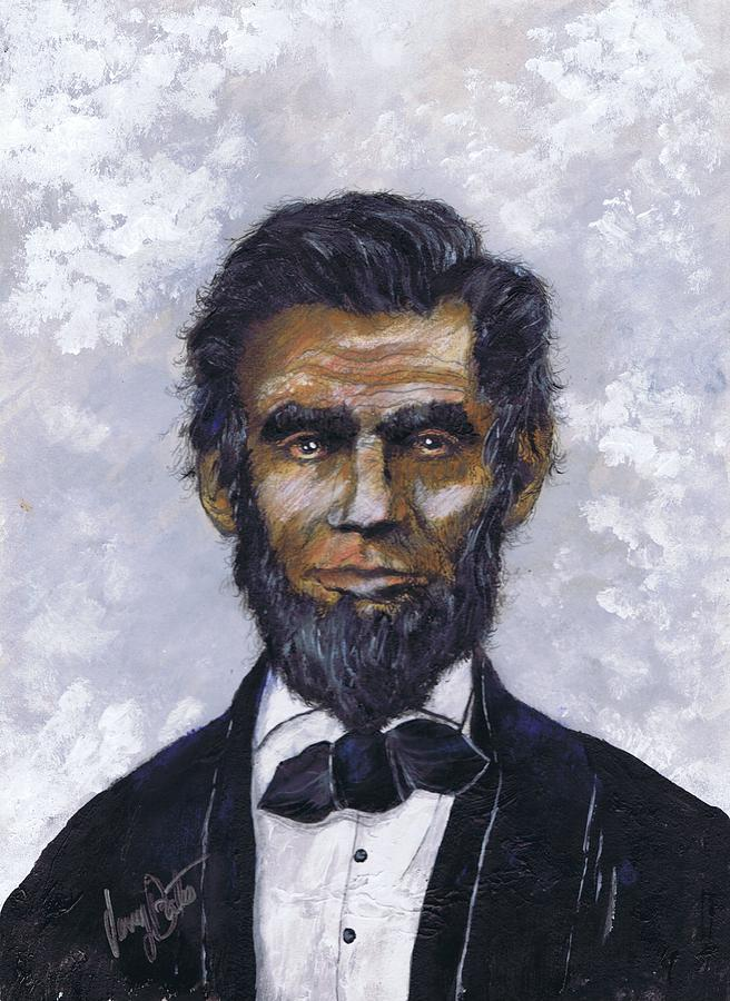 Honest Abe Painting By Jerry Bates