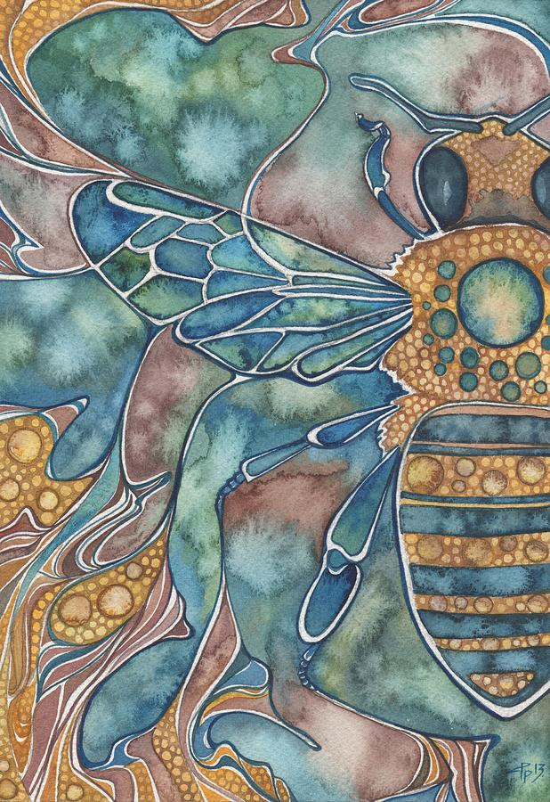 Honey Bee Painting