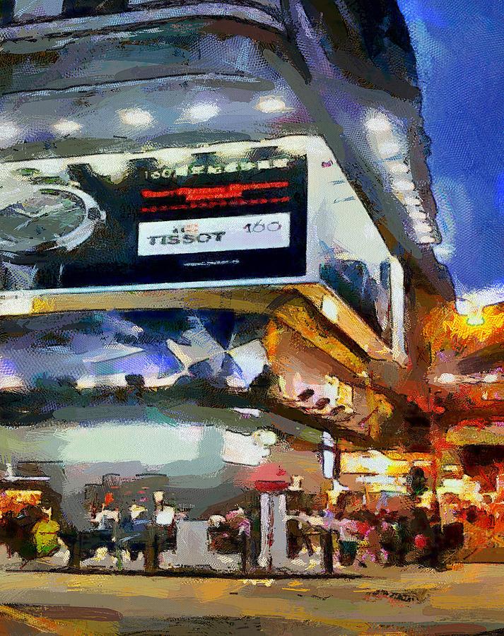 Hong Kong Night Lights 1 Digital Art