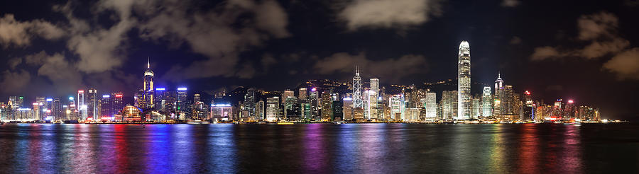 Hong Kong Skyline 1 Photograph  - Hong Kong Skyline 1 Fine Art Print