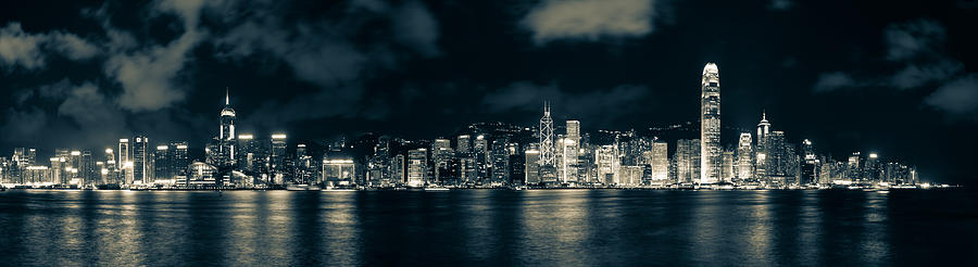 Hong Kong Skyline 5 Photograph