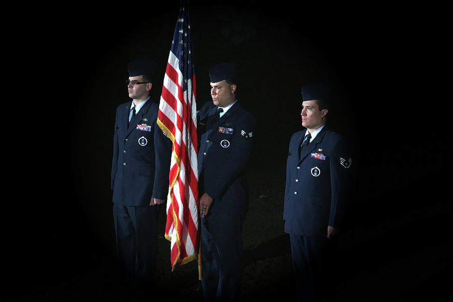 Honor Guard Photograph  - Honor Guard Fine Art Print