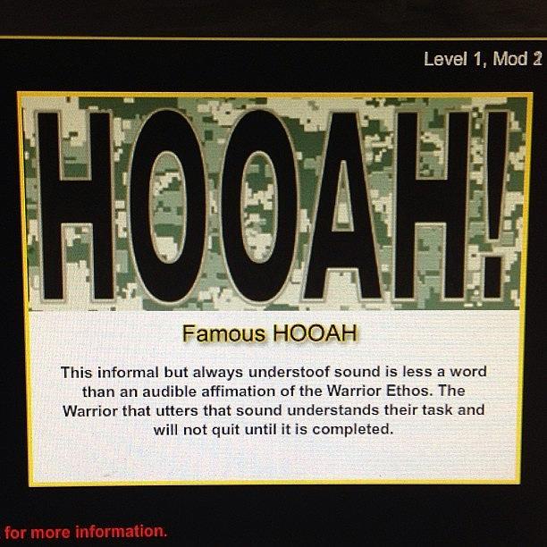 Hooah! Photograph